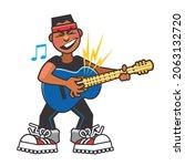 cartoon  comic book style...   Shutterstock .eps vector #2063132720