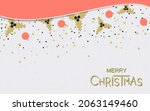 christmas and new year flat... | Shutterstock .eps vector #2063149460