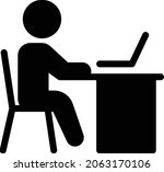 cybercrime vector glyph flat...   Shutterstock .eps vector #2063170106