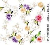 abstract elegance seamless... | Shutterstock .eps vector #2063215169
