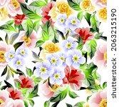 abstract elegance seamless... | Shutterstock .eps vector #2063215190