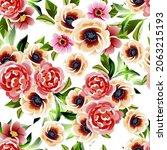 abstract elegance seamless... | Shutterstock .eps vector #2063215193