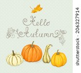 Autumn  Background With...