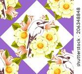 abstract elegance seamless... | Shutterstock .eps vector #206348848