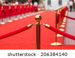 way to success on the red... | Shutterstock . vector #206384140