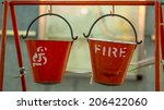 Indian Fire Buckets Hanging On...