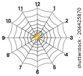 Vector Format Of Simple Spider...
