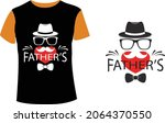 happy fathers day design vector ... | Shutterstock .eps vector #2064370550