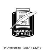 last will or testament... | Shutterstock .eps vector #2064413249