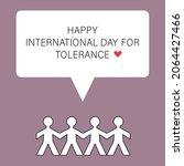 international day for tolerance ... | Shutterstock .eps vector #2064427466