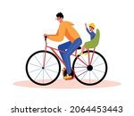 family active holidays... | Shutterstock .eps vector #2064453443