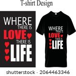 t  shirt color design text | Shutterstock .eps vector #2064463346