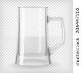 Beer Mug. Transparent Vector...