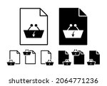 download store cart vector icon ...