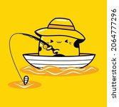 cute cat mascot character... | Shutterstock .eps vector #2064777296