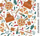 seamless pattern from the... | Shutterstock .eps vector #2064781949