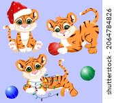 holiday  new year  christmas... | Shutterstock .eps vector #2064784826