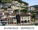 berat  albania   30 june 2014 ...   Shutterstock . vector #206500276