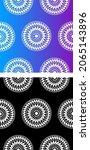 traditional asian  indian motif ...   Shutterstock .eps vector #2065143896