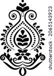 traditional asian  indian motif ...   Shutterstock .eps vector #2065143923