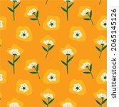 beautiful hand drawn flower...   Shutterstock .eps vector #2065145126