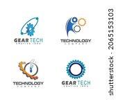 technology logo template vector ...   Shutterstock .eps vector #2065153103