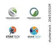 technology logo template vector ...   Shutterstock .eps vector #2065153109