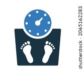 diet  weight loss icon. simple...   Shutterstock .eps vector #2065162283