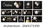 baseball christmas card set....   Shutterstock .eps vector #2065171550