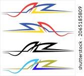 vehicle graphics  stripe  ...   Shutterstock .eps vector #2065185809