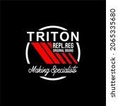 triton urban design vektor... | Shutterstock .eps vector #2065335680