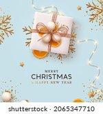 merry christmas and happy new... | Shutterstock .eps vector #2065347710