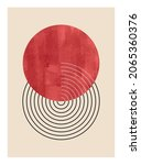 minimal  geometric design... | Shutterstock .eps vector #2065360376