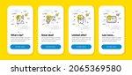 vector set of quick tips ... | Shutterstock .eps vector #2065369580