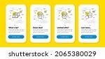 vector set of charging app ... | Shutterstock .eps vector #2065380029