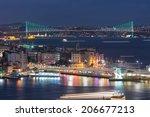 bosphorus bridge | Shutterstock . vector #206677213