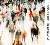 rush hour | Shutterstock . vector #206687308