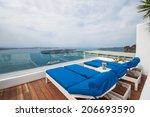 outdoor day bed | Shutterstock . vector #206693590