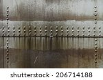 dirty oil stains on metal...   Shutterstock . vector #206714188