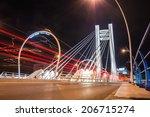basarab bridge and tram railway ... | Shutterstock . vector #206715274