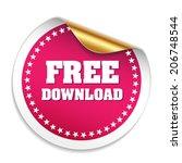purple free download sticker...