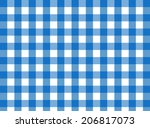 Vector Blue Gingham Fabric...