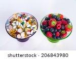 healthy lifestyle  diet concept ... | Shutterstock . vector #206843980