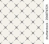 seamless vintage pattern | Shutterstock .eps vector #206876524