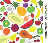 vector collection of various...   Shutterstock .eps vector #206897593