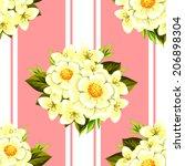 abstract elegance seamless... | Shutterstock . vector #206898304