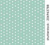 polka dot template vector design | Shutterstock .eps vector #206963788