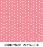 polka dot template vector design