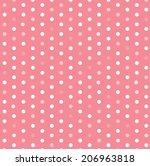Polka Dot Template Vector Design