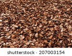 Cortex Or Wood Chip Background...